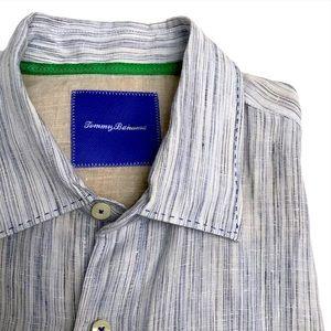Tommy Bahama Long Sleeve Linen Shirt Large